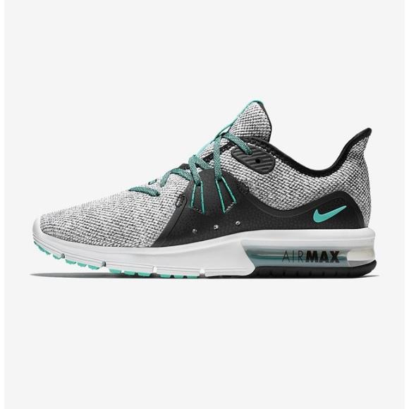 d4dc63d2da Nike Shoes   Air Max Sequent 3 Grey Green Sneakers 10   Poshmark